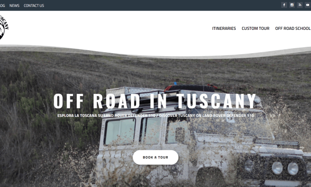 Restyling di Off Road in Tuscany
