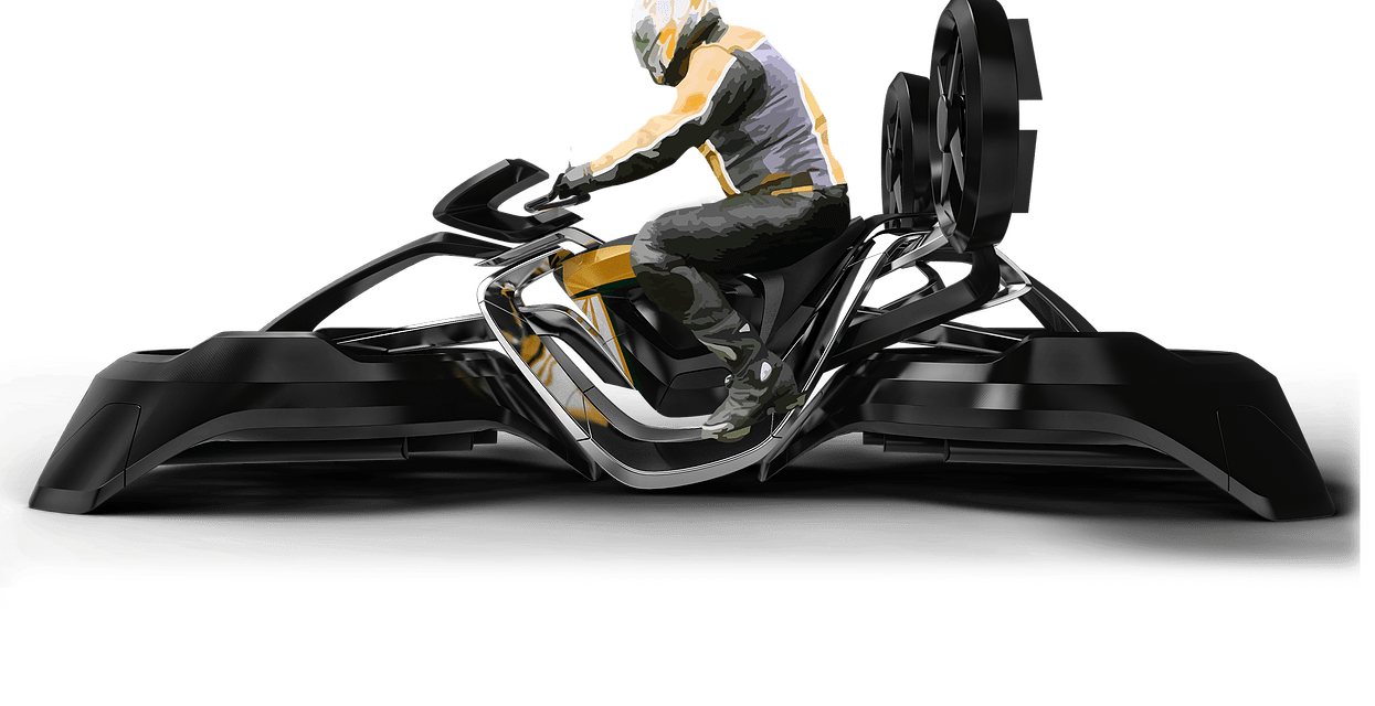 Horus: una superbike volante