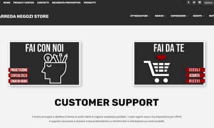 Arreda Negozi Store è online