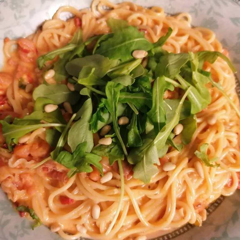 heerlijke spaghetti