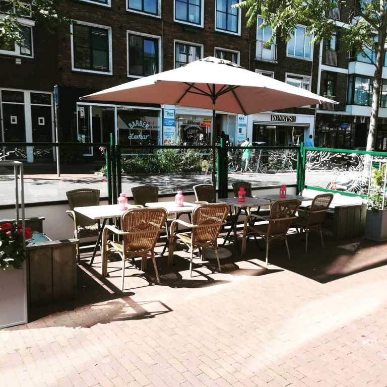 gezellig terras Nijmegen