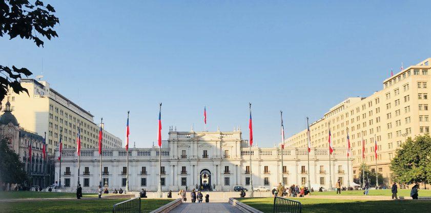 Santiago del Cile: Palacio de la Moneda