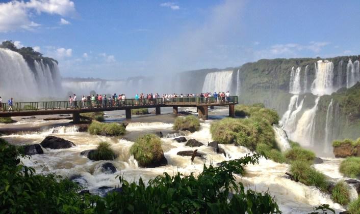 Versante Brasiliano delle Cascate di Iguazù