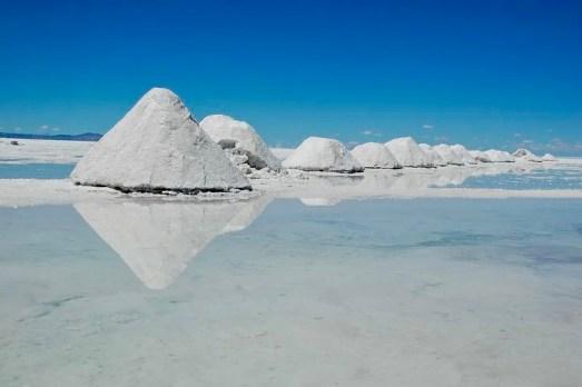Salar de Uyuni: blocchi di sale