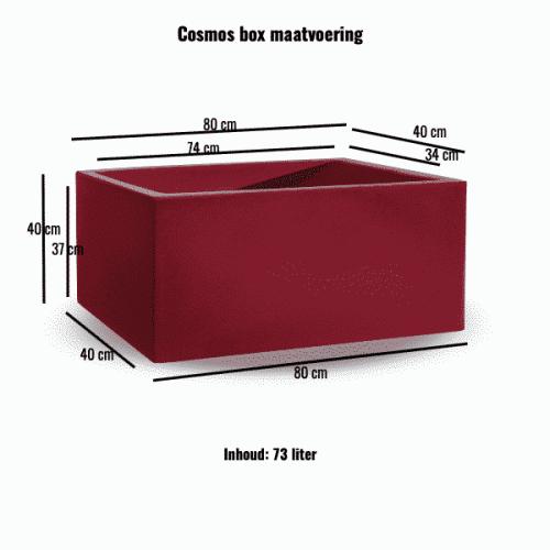 Cosmos box maatvoering