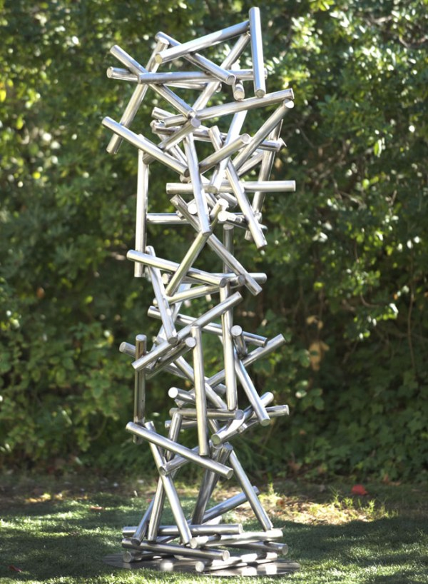 Modern Metal Garden Sculptures