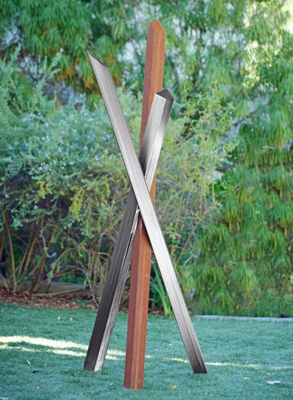 Outdoor Abstract Garden Sculptures