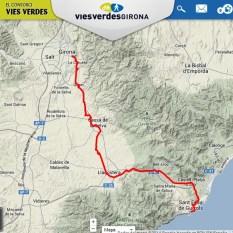 Via Verda - Carrilet de Girona a Sant Feliu de Guíxols