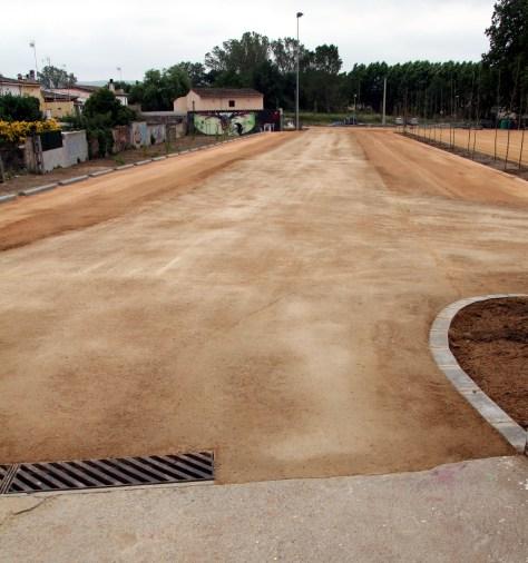 TERRA SOLIDA - zona circulació aparcament a Vidreres