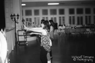 Dancing the macarena:)