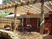 Back Porch Deck Design Ideas