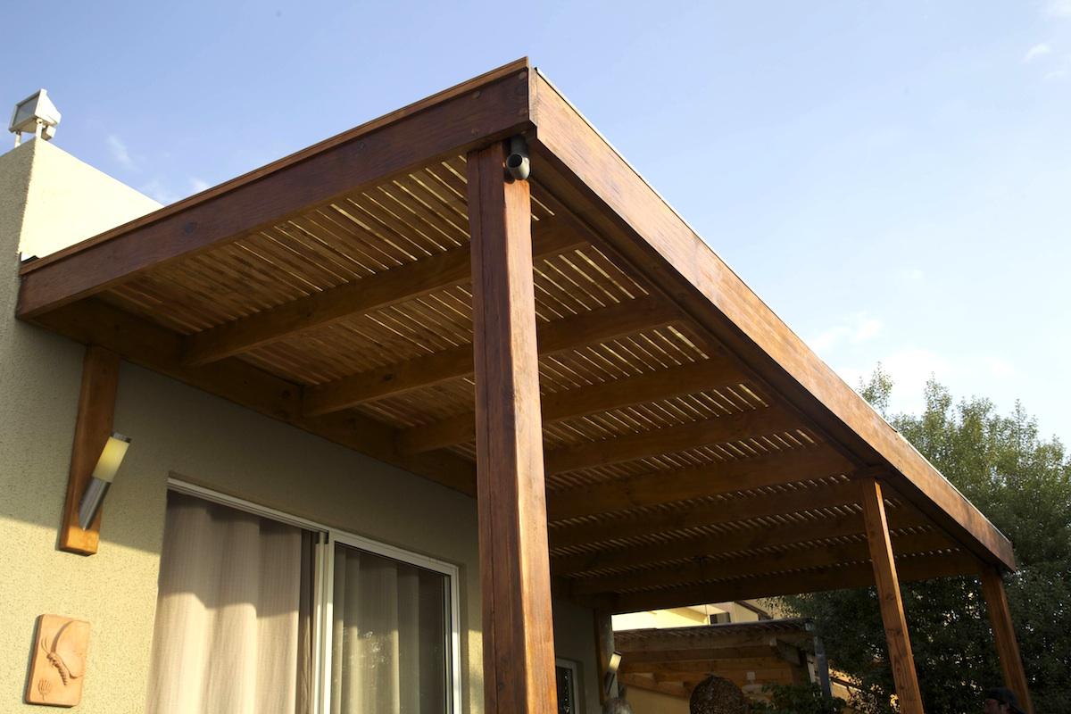 Cobertizos en madera Construccin y mantenimiento