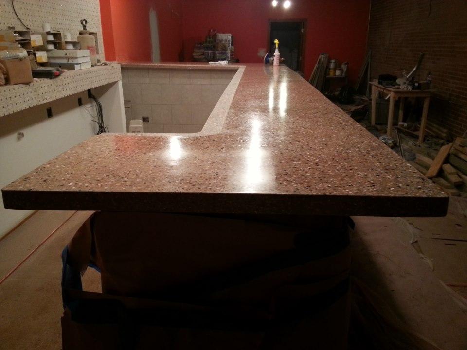 Terrazzo Counter Top