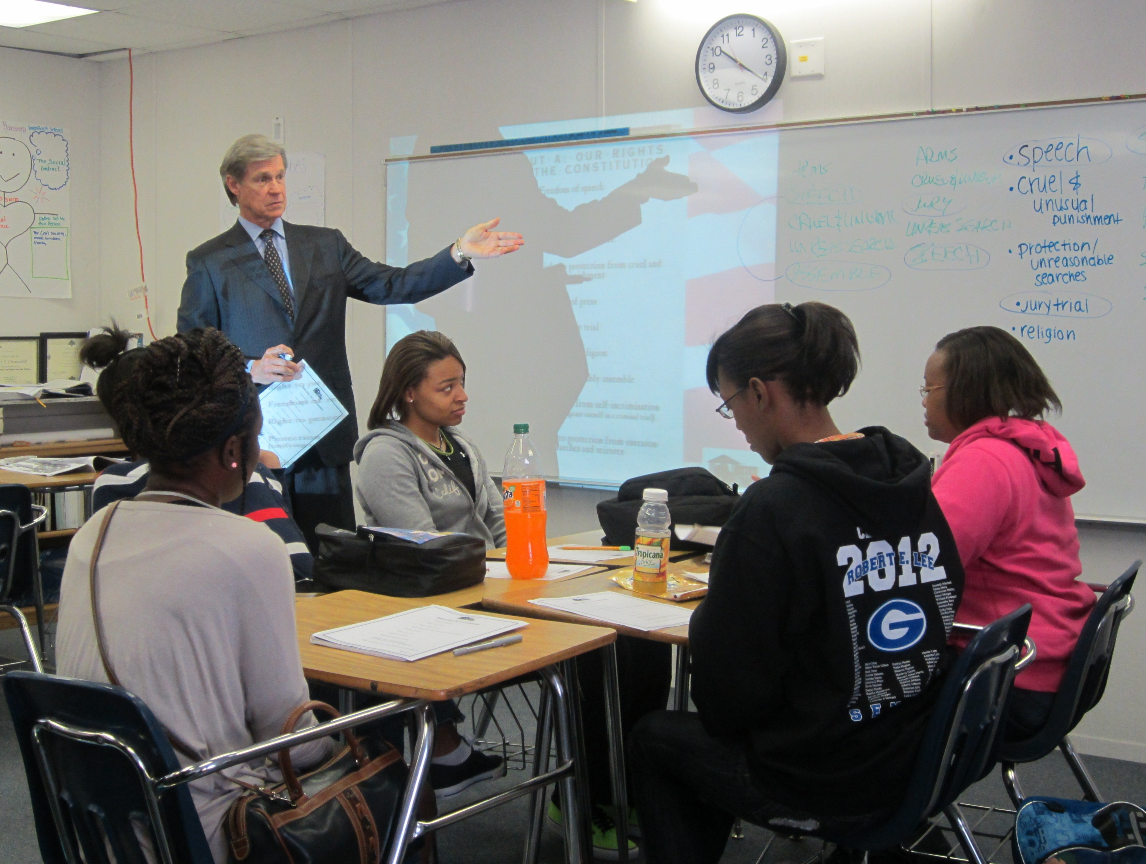 Lee High School Students Get Real Life Lesson In Bill Of