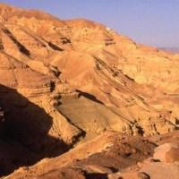Monastères dans le désert de Judée