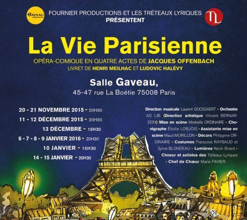 "Affiche ""La Vie Parisienne"""