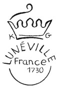 Logo de la faïencerie de Lunéville