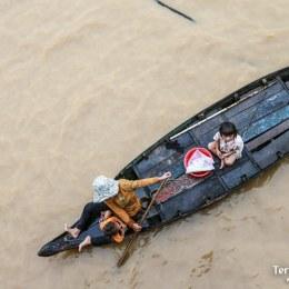 Vida en el Río Mekong