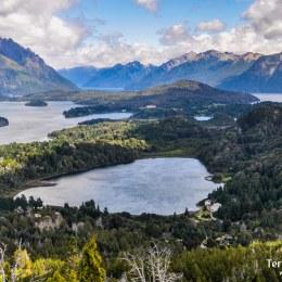 Cruce de lagos en Bariloche