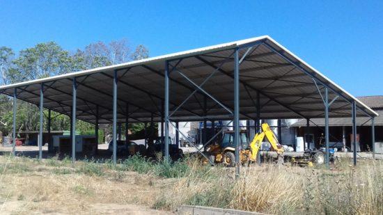 Hangar Metallique Pas Cher Bien Choisir Terre Solaire