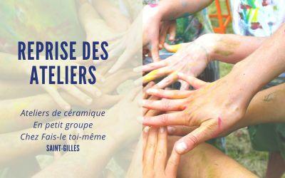 Initiation à la céramique chez Fais-le Toi-même / SAINT-GILLES (BXL)