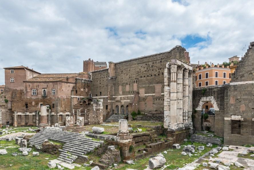 Forum of Augustus Temple of Mars Ultore_DSC4453