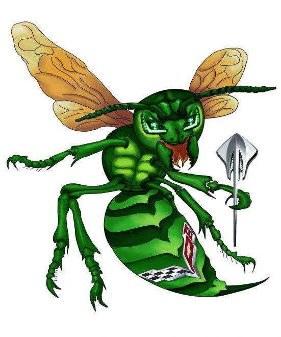 MyGreen Hornet w_bg