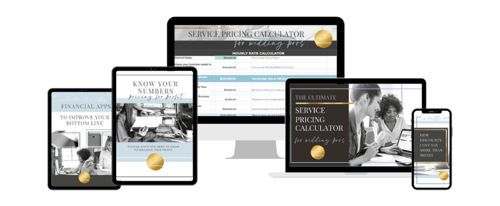 Pricing Guides and Calculators For Wedding Pros