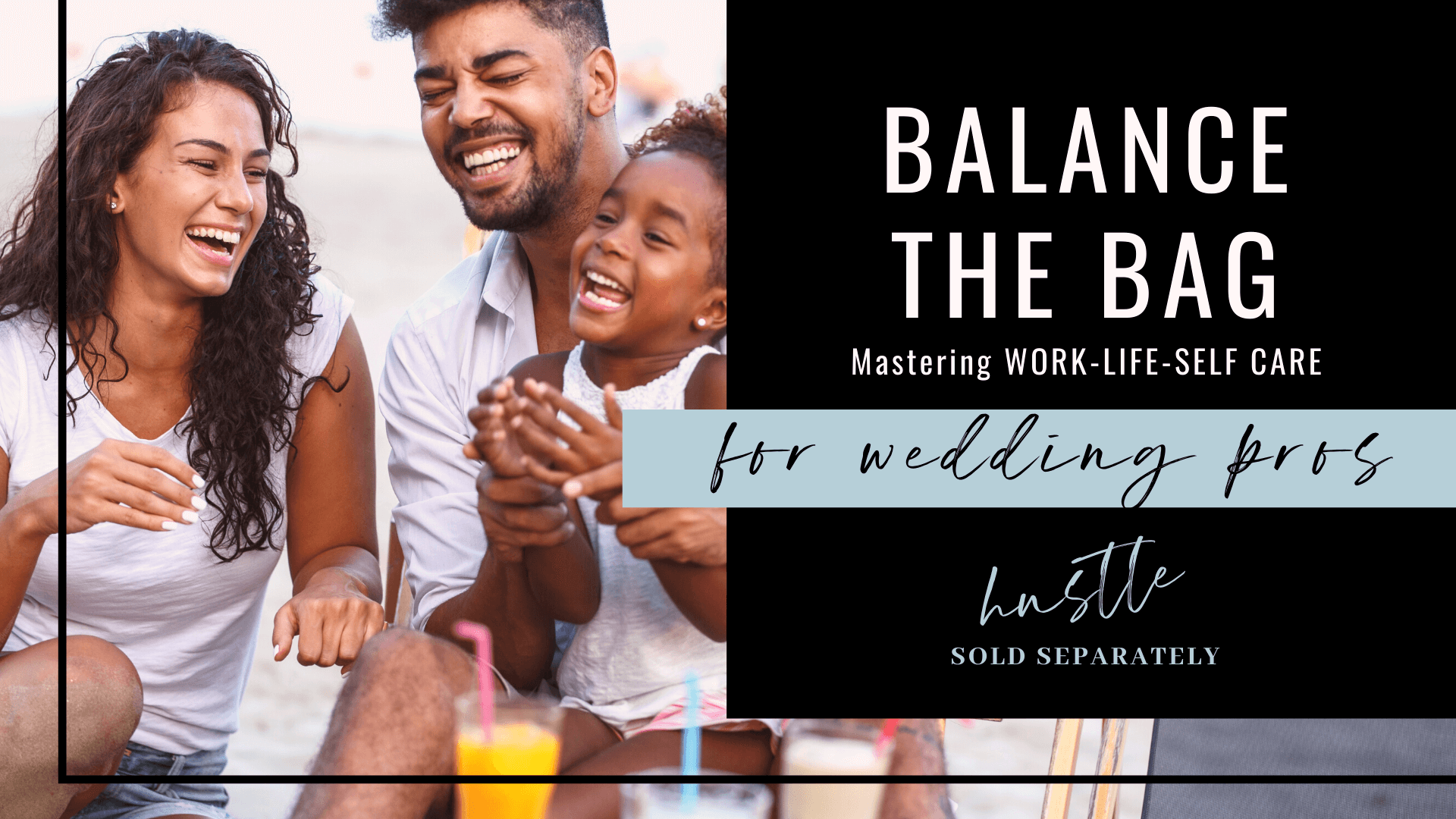 Balance your work and life as a growing wedding pro