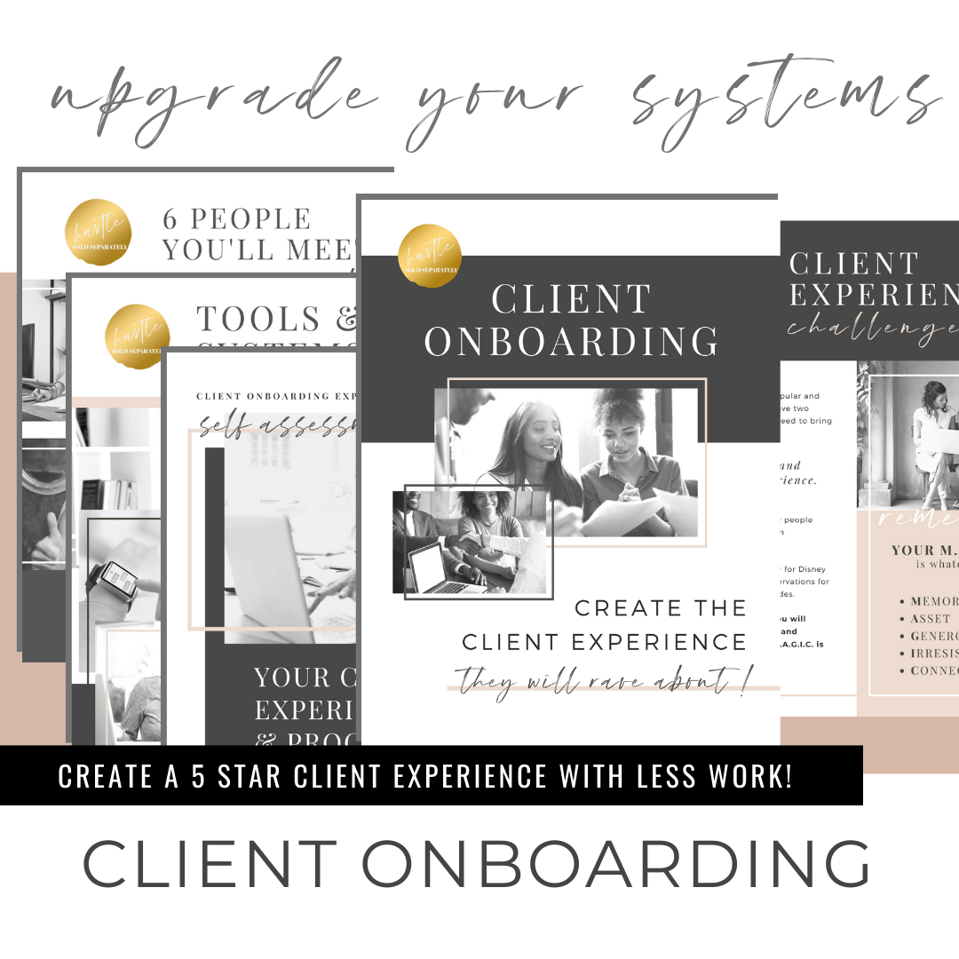 Upgrade The Client Onboarding Experience of your Wedding Business