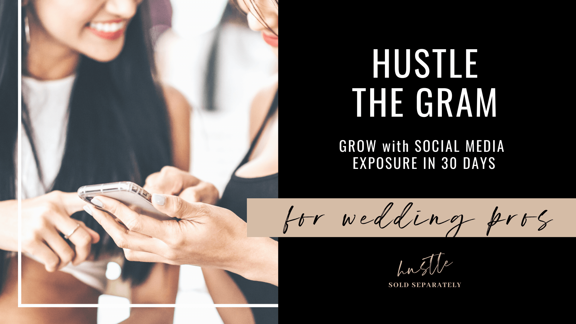 Grow your social media following for greater sales in your wedding business
