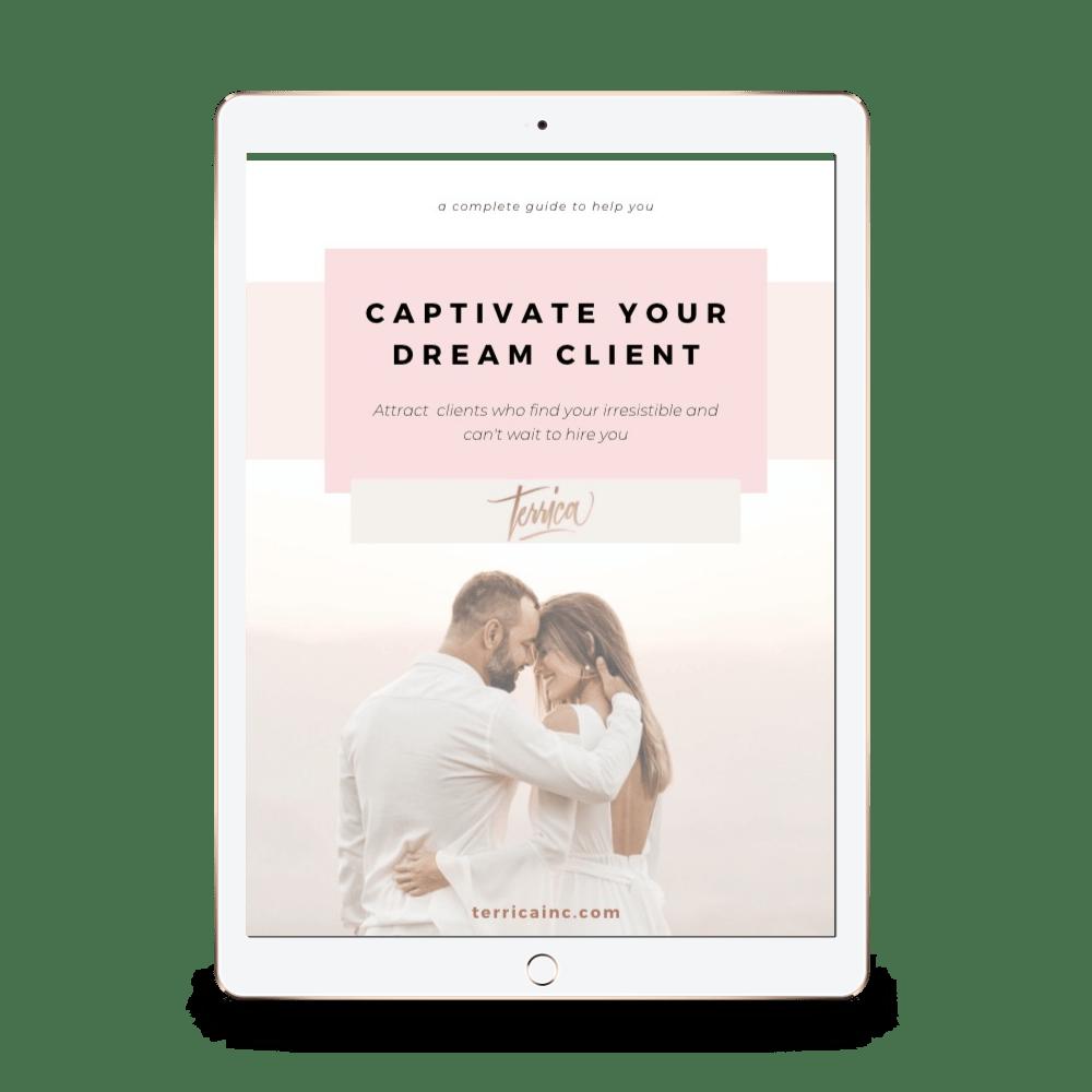 Dream Wedding Client Workbook