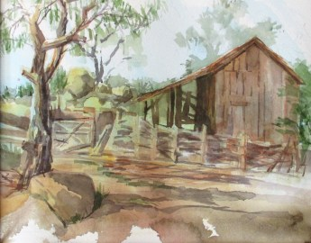 """""""American Flag Barn"""" is part of the Arizona Trail Series"""