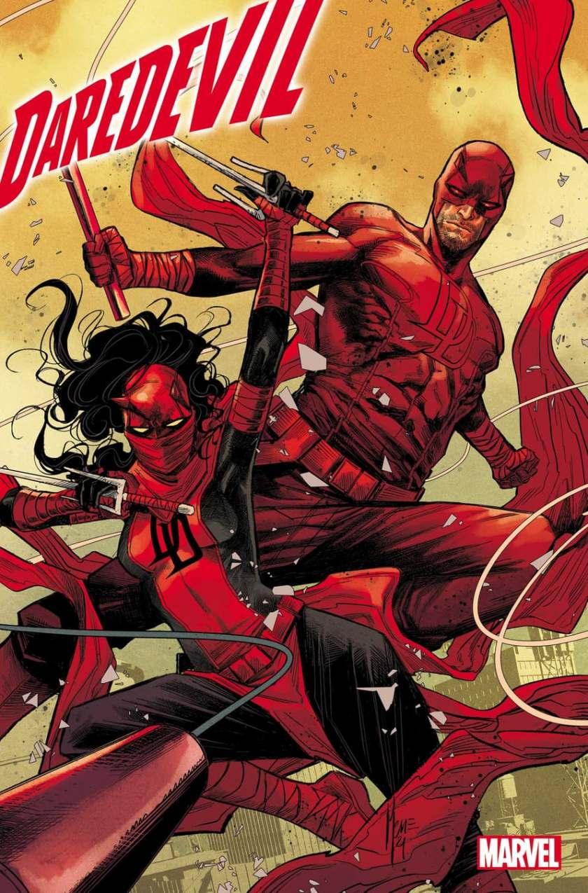 Daredevil #36 Cover di Marco Checchetto