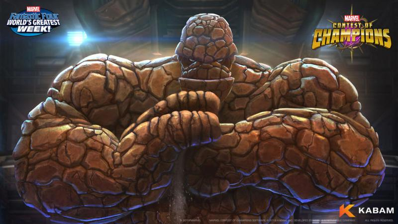 Marvel Contest of Champions - The Thing