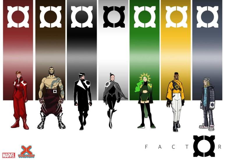 Here's Your First Look at the New 'X-Factor' Costumes | Marvel