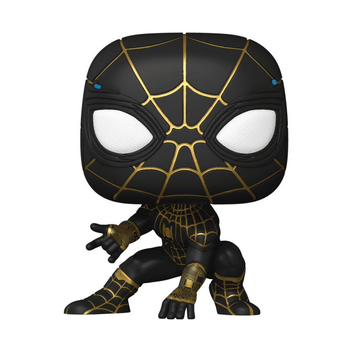 Spider-Man No Way Home Black and Gold Suit