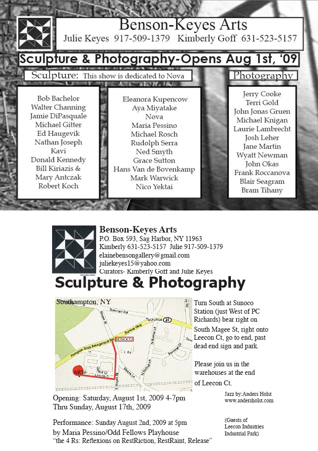 Group Show - Gallery Opening Invite
