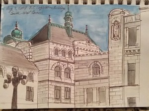 Legislature sketch (Summer Flies By (with sketch experiments))
