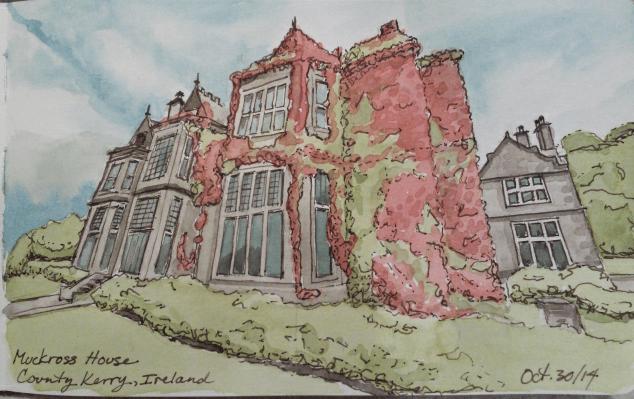 Muckross House, Virtual Paintout Ireland
