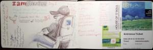 Travel journal beginnings (Amsterdam Vacation Redux)