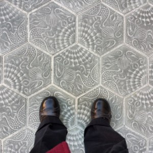 Gaudi paving stones (Breathing Space in Barcelona)
