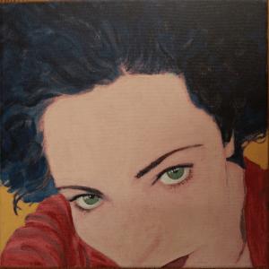 Selfie, acrylic (Self Portraits aka Selfies)