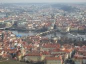 Buildings, river