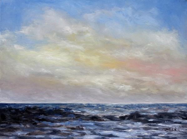 Winter Sun II 18 x 24 inch oil on canvas by Terrill Welch 2013_05_28 279