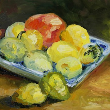 Fruits of Labour 12 x 12 inch oil on gessobord by Terrill Welch 2012_08_12 045
