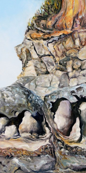 The Edge 48 x 24 inch oil on canvas 2012 2015 by Terrill Welch 2015_12_14 011