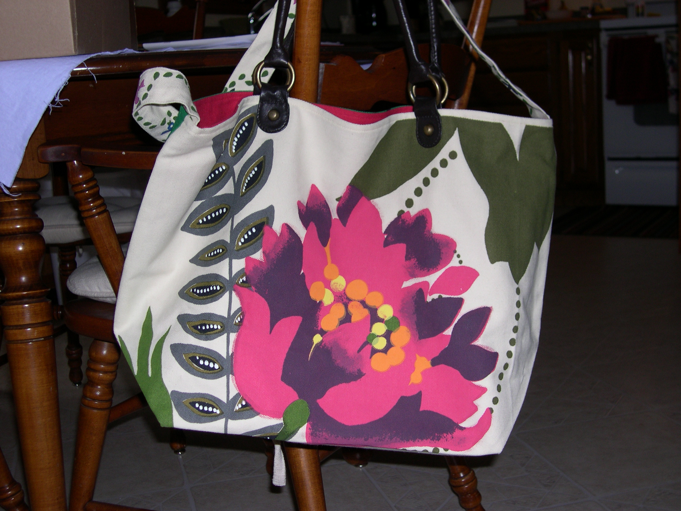 Front of Artist Tote