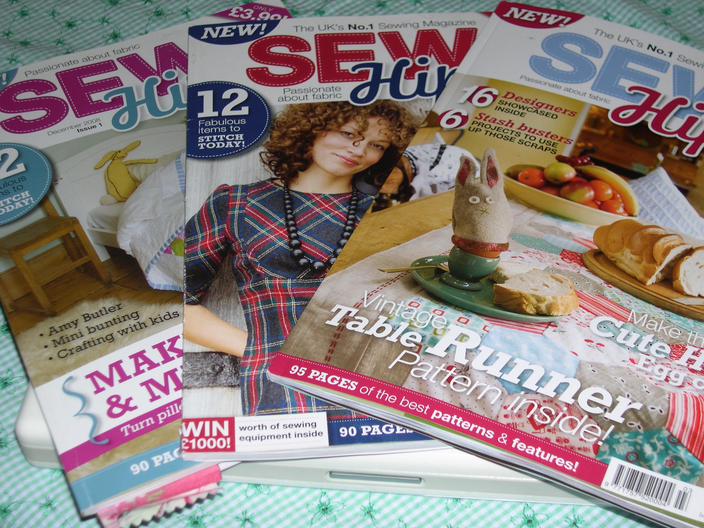 My favorite - Sew Hip magazine