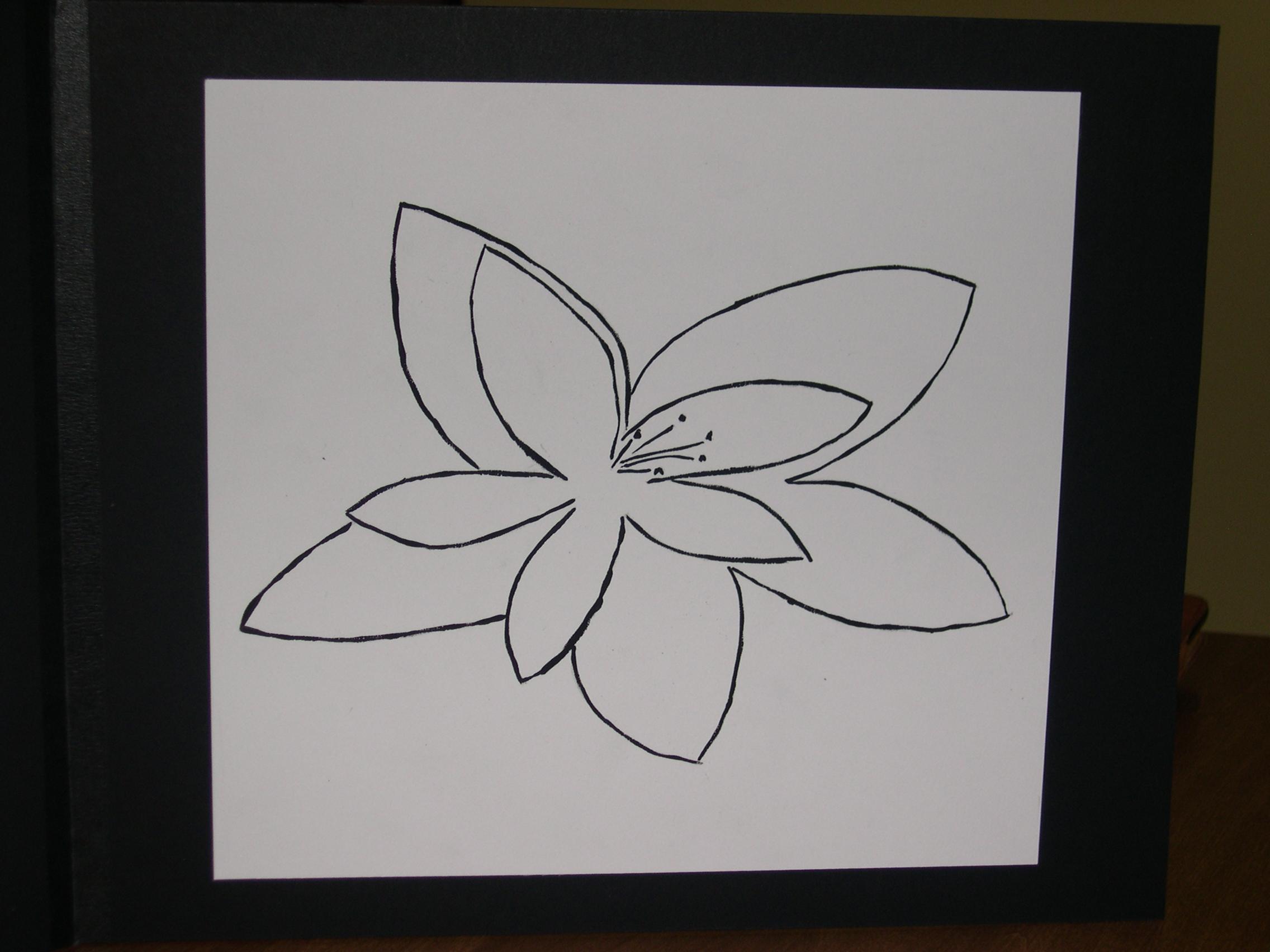 step six gestural drawing